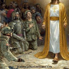 Peace is Coming, by Jon McNaughton Christian Artwork, Christian Images, Jon Mcnaughton, Biblia Online, God Prayer, Prayer Verses, Catholic Religion, In Christ Alone, Biblical Art