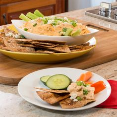 Be ready for Football this weekend with this Buffalo Chicken Dip!