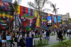 Mural Etnias, de Kobra, entra para o Guinness como maior grafite do mundo - Rio de Janeiro - Olimpíadas 2016