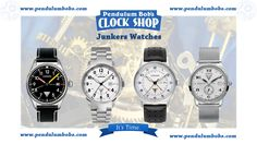 Since Junkers Watches refer to the legendary corrugated sheet aircrafts, they also fill with enthusiasm. They bring a thrilling era of aircraft history alive and like their role model they represent robustness, persistence and significant design. Every glance at a Junkers watch shows the fascination of flying again. If you love aviation, you've GOT to check out these watches!