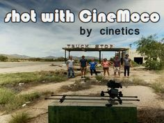 Awesome products from Cinetics if you love taking video with you iPhone.  CineMoco ● motor control for your camera by Cinetics, via Kickstarter.