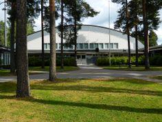 One sports halls Kuortane Sport Resort, Finland.