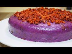UBE HALAYA (exact ingredients below) Ube halaya, Halayang ube or Ube jam is one of very popular and favorite Filipino dessert made from boiled and mashed ube. Filipino Desserts, Filipino Recipes, Filipino Food, Ube Jam, Purple Yam, Baking And Pastry, Pumpkin Bread, Pinoy, Let Them Eat Cake
