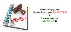 Still worried about why your ‪#‎HomeLoan‬ got rejected? Lets learn how to manage your home loan process in a better way! For details visit - http://blog.ruloans.com/know-why-your-home-loan-could-get-rejected-how-to-manage-it/ ‪#‎Ruloans‬ ‪#‎BorrowRight‬