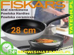 Patelnia Fiskars, Stalowa, 28cm, 855328S, 855328