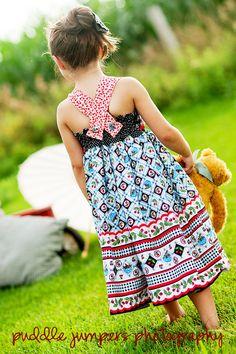 cute fabric and super cute dress