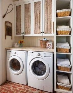 Tiny Laundry Room Ideas - Space Saving DIY Creative Ideas for Small Laundry Rooms Small laundry room ideas Laundry room decor Laundry room makeover Farmhouse laundry room Laundry room cabinets Laundry room storage Box Rack Home Rustic Laundry Rooms, Tiny Laundry Rooms, Laundry Room Layouts, Farmhouse Laundry Room, Laundry Room Organization, Laundry Storage, Laundry Room Design, Closet Storage, Storage Shelves