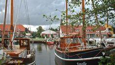Der Vareler Hafen. © NDR Fotograf: Dieter Blunk, Varel