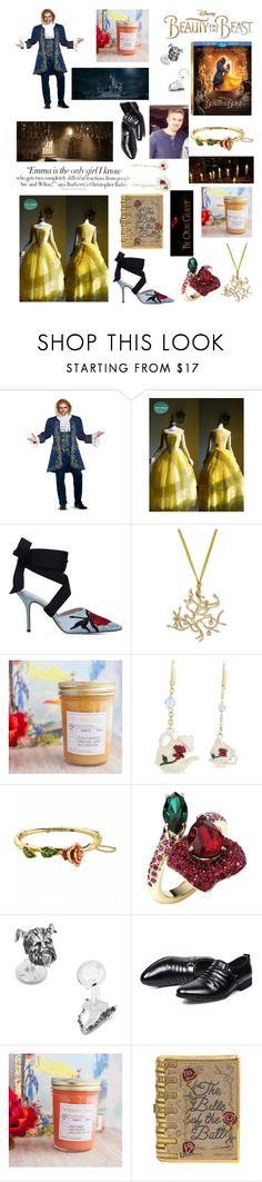 """""""💟Beauty and the Beast🌹"""" by suyasha-singh ❤ liked on Polyvore featuring Disney, Christopher Kane, Atelier Swarovski, Vanity Fair, Judith Leiber, BeautyandtheBeast and contestentry"""