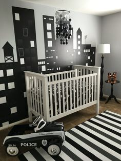 Gotham city nursery!