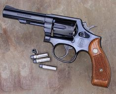 My first pistol Smith and Wesson  .38 special handed down to me from my grandfather..