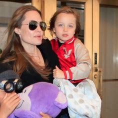 Vivienne & Knox Jolie-Pitt Turn 5