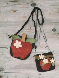 Apple Blossom Bags – Wooden Spool Designs