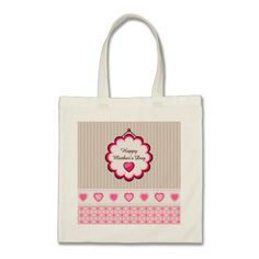 Happy Mother's Day Hearts Bags