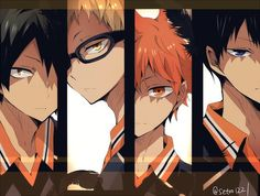 Shared by ~ Mira ~ ♥️. Find images and videos about cute, anime and haikyuu on We Heart It - the app to get lost in what you love. Haikyuu Kageyama, Kagehina, Hinata, Haikyuu Manga, Haikyuu Fanart, Kenma, Cute Anime Pics, Anime Love, Manga Art