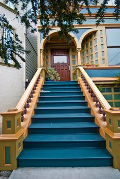 beautiful Victorian stairs