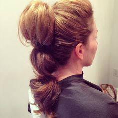 Tiered Pony | Topknots by Jamie Lynn