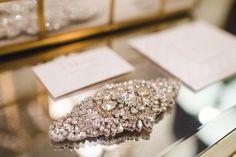 Blossom bridal headpiece, available at Ava Clara