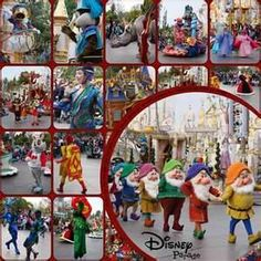 Scrapbook Disney Layouts - Bing Images... Never thought to search scrapbooking layouts before... so smart!