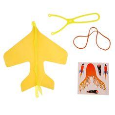 ミニdiy子供ハンド投げるフライングライト航空機ledライトアップ飛行機グライダーおもちゃナイトパーティーおもちゃ子供のため