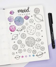 of the month! I quite like the purple. - - Mood tracker of the month! I quite like the purple… – -Mood tracker of the month! I quite like the purple. - - Mood tracker of the month! I quite like the purple… – - Doodle floral wreath vector collection Bullet Journal Tracker, Bullet Journal Inspo, Bullet Journal Headers, Bullet Journal Aesthetic, Bullet Journal Spread, Bullet Journal Layout, Beginner Bullet Journal, Dotted Bullet Journal, Tracker Mood