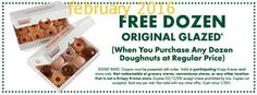 Krispy Kreme Coupons PROMO expires May 2020 Hurry up for a BIG SAVERS Krispy Kreme is famous for its delicious glazed donuts. Free Printable Coupons, Free Coupons, Printable Cards, Free Printables, Store Coupons, Grocery Coupons, Online Coupons, Dollar General Couponing, Coupons For Boyfriend