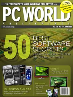 PCWorld Philippines June 2008 cover