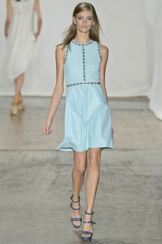 big dress shape this season- this time by Rebecca Taylor