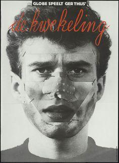 Globe speelt Ger Thijs' De Kwekeling – Anthon Beeke – 1979 #totaldesign