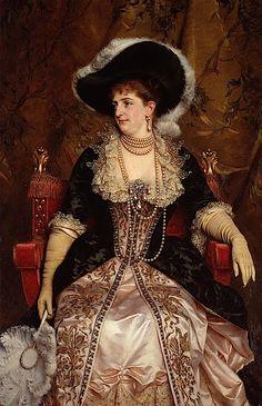 Ее Величество Королева Маргарита, жена короля Умберто I, первая королева Италии