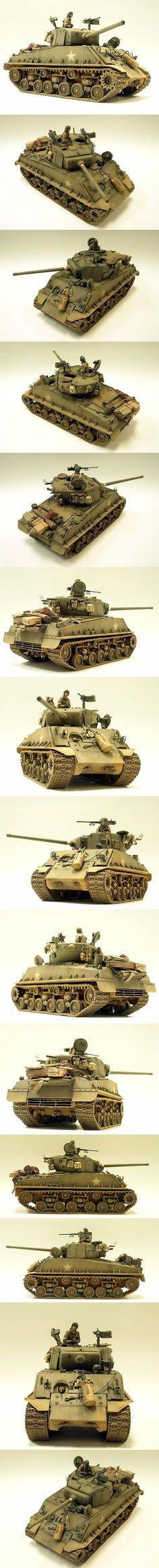 Sherman M4A3E8 (76mm) 1/35 Scale Model:
