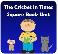 The Cricket in Times Square Unit aligned to the Common Core Standards includes vocabulary, comprehension questions, constructive response questions, and English lessons. $