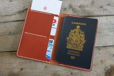 Items similar to Personalized Leather Passport Case, Passport Cover, Boarding Pass Holder,CHESTNUT on Etsy Passport Cover, Leather Wallet, Wallets, Boarding Pass, Unique Jewelry, Handmade Gifts, Etsy, Passport, Kid Craft Gifts