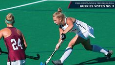 The University of Connecticut field hockey team picks up where it left off in…