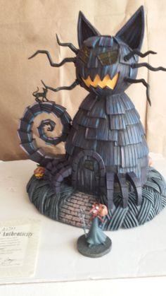 Nightmare Before Christmas house, Hawthorne Village, Cat house, Disney