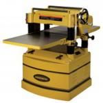 The Powermatic Planer, with Byrd? Cutterhead in Woodworking, Planers Rockler Woodworking, Woodworking Tools, Woodworking Patterns, Woodworking Machinery, Woodworking Techniques, Steel Columns, Dust Collector, High Speed Steel, Iron Table