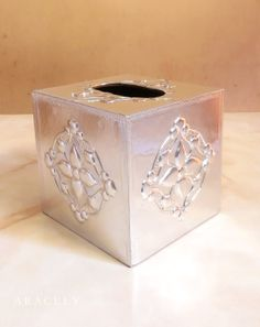 Tissue Boxes, Tissue Holders, All Craft, Metal Working, Decoupage, Container, Diy, Crafts, Design