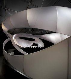 Zaha Hadid concert hall