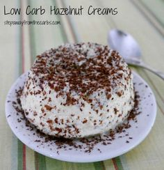 Low Carb Hazelnut Creams