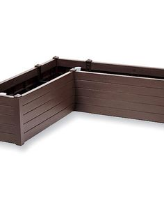 self-watering liner idea for existing deck planter boxes.