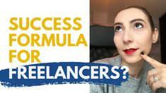 How to become a Successful Freelancer // In this video I share with you my tried and true freelancer success formula. A tool I have been using for the past Way To Make Money, Make Money Online, How To Make, Coincidences, 15 Years, How To Become, The Past, Career, Success