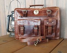 Unique style hand crafted real buffalo leather bags by guntaboutique Vintage Leather Backpack, Brown Leather Backpack, Black Tote Bag, Handmade Purses, Leather Bags Handmade, Backpack Purse, Travel Backpack, Travel Bags, Designer Leather Handbags