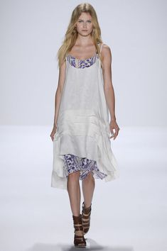 Rebecca Minkoff SS13- These dress is a dreammm. Need the white and the underlay dress