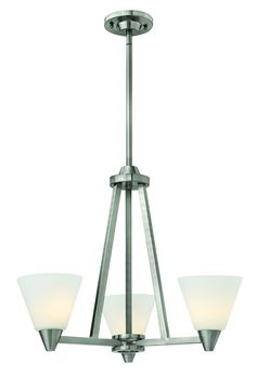 View the Hinkley Lighting 3663 Dillon 3 Light 1 Tier Chandelier at LightingDirect.com.