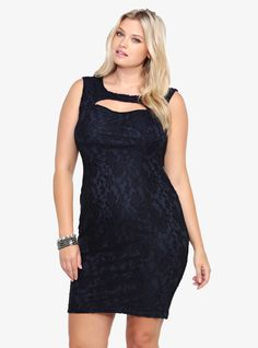 This is soo cute!! It's all about our Keyhole Lace Dress.