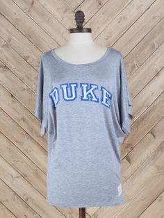 90c3995609c Game Day Relaxed Batwing Top – Multiple Teams! at altardstate.com  Duke