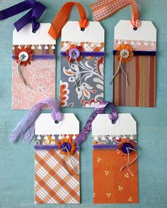 one of a kind handmade gift tags Specialty by psitsinthedetails