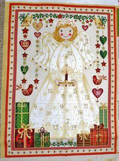 Angel Advent Calendar Panel from Henley Studio and Makower
