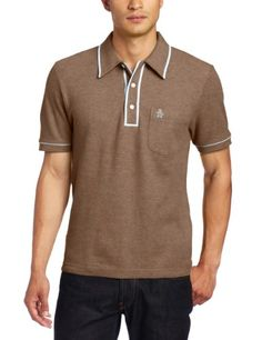 Original Penguin Men's The Earl Polo Shirt, Tortoise « Shirt Add