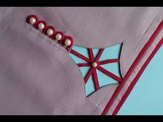Churidhar Neck Designs, Neck Designs For Suits, Sleeves Designs For Dresses, Dress Neck Designs, Hand Designs, Sleeve Designs, Simple Blouse Designs, Stylish Blouse Design, Stylish Dress Designs